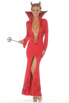 Sexy Teufel Kostüm Kleid