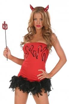 Sexy Teufelin - Teufel Kostüm