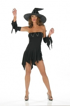 Sexy Witch Dress - Hexenkostüm