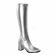 Stiefel Boots GoGo-300 silber