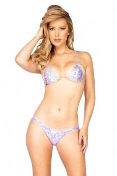 String Bikini lavender