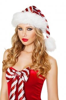 Weihnachtsmütze Candy Stripe