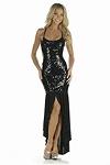 Abendkleid Lara - schwarz