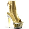 Ankle Boots Illusion-1018 gold