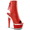 Ankle Boots Illusion-1018 rot