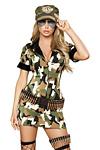 Army Kleid Kostüm