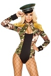 Army Kostüm Body Jane