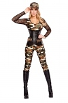Army Kostüm Leutnant Angie