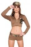 Army Kostüm Soldier Babe