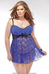 Babydoll - Electric Blue