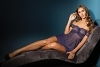 Babydoll und String - Navy Dream