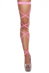 Beinstrings hot pink