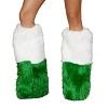 Beinstulpen grün weiss