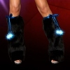 Beinstulpen Lightning Stars royal blau