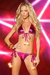 Bikini Lightning Star pink