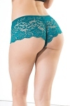 Booty Shorts Coquette teal