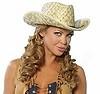 Cowboy Stroh Hut