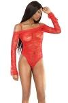 Dessous Body Red Devil