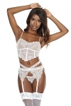 Dessous Set White Girl