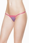 Dessous String lila pink