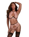 Dreamgirl Dessous Set Midnight