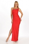 Elegantes Abendkleid rot