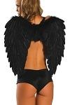 Engel Flügel schwarz
