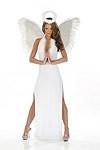 Engel Kost�m Kleid - Angel Gown Schwarz Gr.M