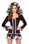 Eskimo Kostüm Black Deluxe