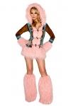 Eskimo Kostüm Deluxe komplett