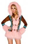 Eskimo Kostüm Deluxe Mantel