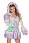 Eskimo Kostüm Jacke Deluxe