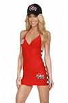 Formel 1 Girl - Boxenluder Kleid