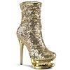 Glitzer Stiefelette BLONDIE-R-1009 gold