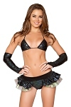 GoGo Set Mermaid schwarz