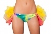 GoGo Shorts mit Petticoat TieDye