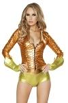 Goldfisch Kostüm Catsuit