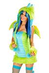 Grüner Drache Kostüm - Lizenzkostüm by JValentine USA