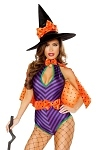 Halloween Hexenkostüm Sweet Pumpkin Witch