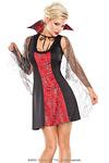Halloween Kleid Miss Coquette