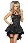 Halloween Kostüm - Schwarze Witwe