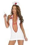 Heisse Nachtschwester - Krankenschwester Kostüm