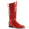 Herren Kostüm Stiefel rot - Hero-100