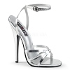 High Heels Domina-108 silber