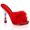 High Heels Glitzy-501-8 rot