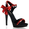 High Heels Lip-115 schwarz/rot