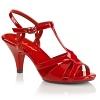 High Heels Sandalette Belle-322 rot