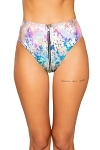 Highwaist Splash Shorts