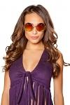 Hippie Sonnenbrille Heart