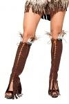 Indianer Kostüm Beinstulpen